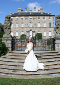 Beautiful Bride At A Wedding In Pollok House, Glasgow